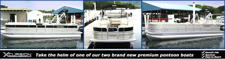 2 New Premium Pontoon Boats